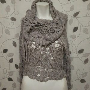 Free People Cowl Neck knit sweater